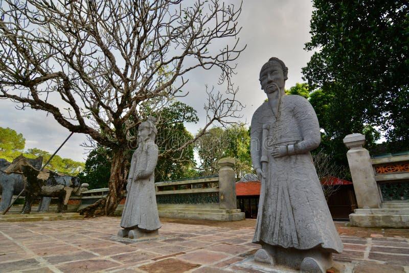 L'area della tomba Tomba del Tu Duc Hué vietnam immagini stock