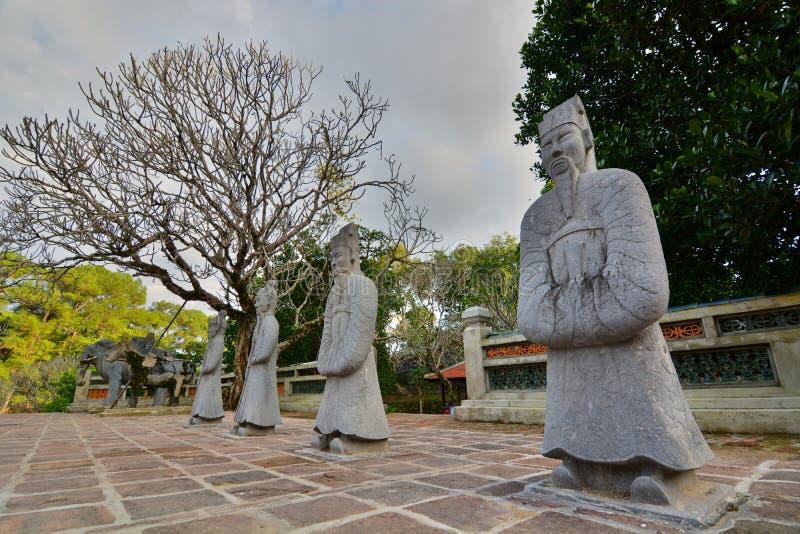 L'area della tomba Tomba del Tu Duc Hué vietnam fotografie stock libere da diritti