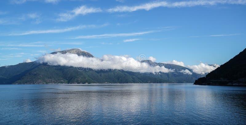 L'area di Eidfjord immagini stock libere da diritti