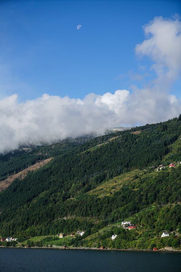 L'area di Eidfjord immagini stock