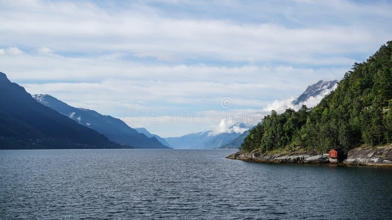 L'area di Eidfjord fotografia stock libera da diritti