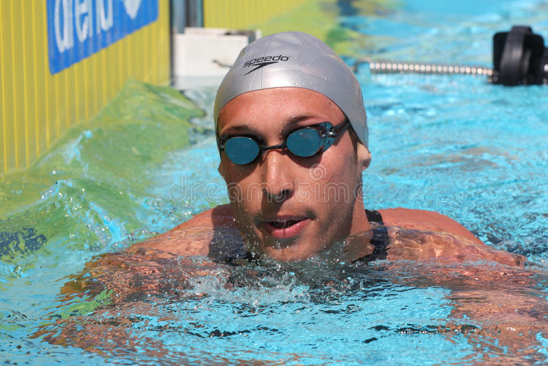 L'arena internazionale di riunione di XXIIe di nuoto fotografie stock libere da diritti