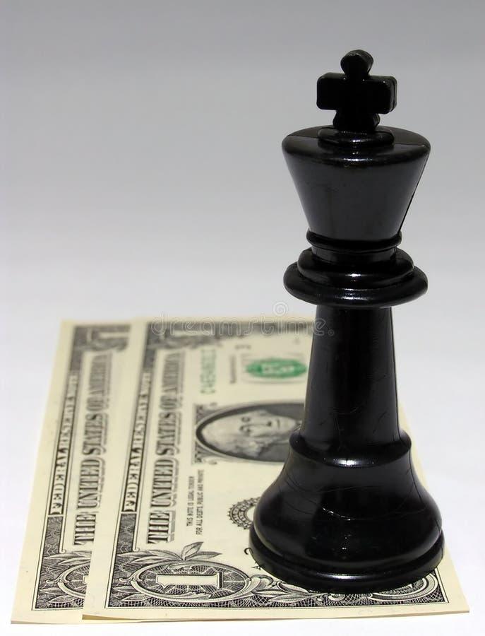 L'argent comptant est le roi #1 image libre de droits