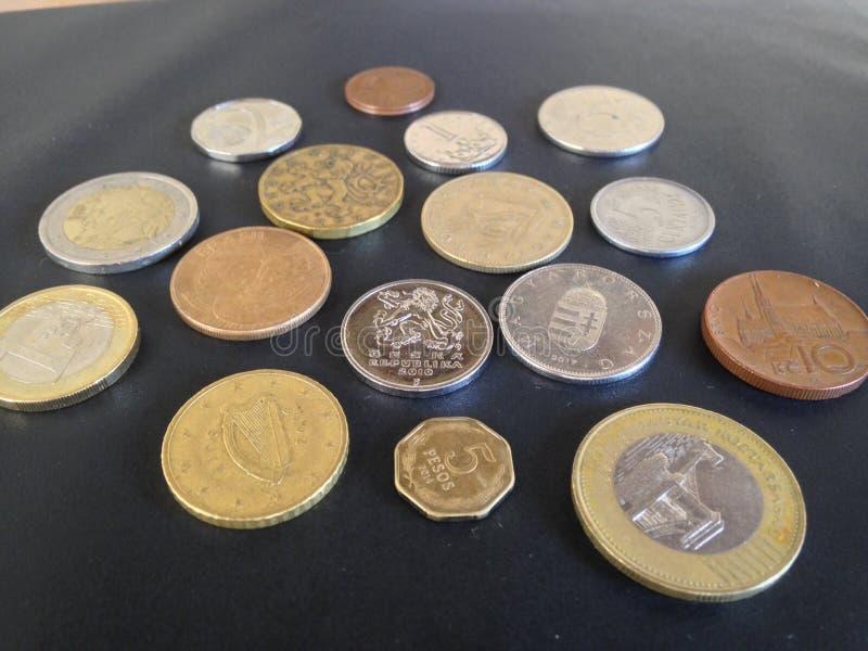 L'argent 3 du monde photographie stock libre de droits