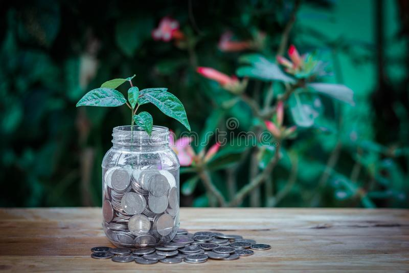L'argent est ce qui fait images libres de droits