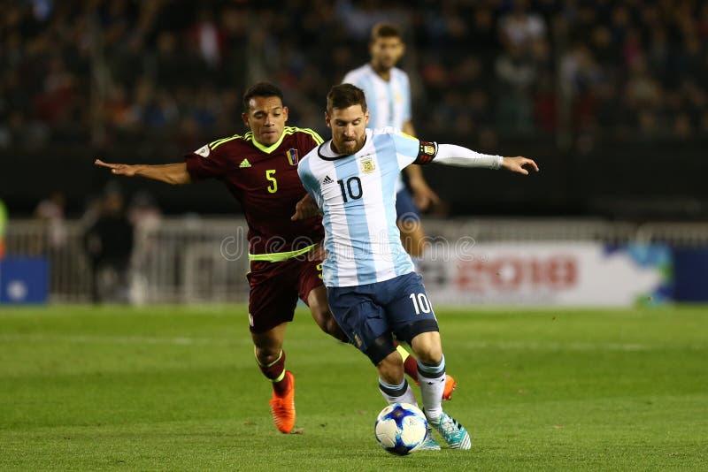 L'Argentina - il Cile - Copa America 2016 immagini stock