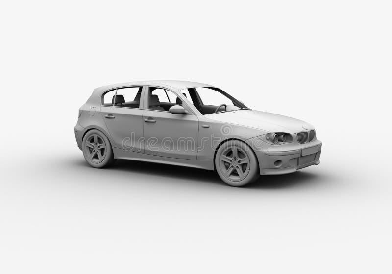 Download L'argile 3D De Véhicule Rendent Illustration Stock - Illustration du automobiles, série: 736457