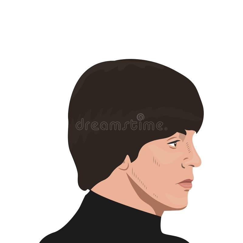 L'argomento della banda di Beatles royalty illustrazione gratis