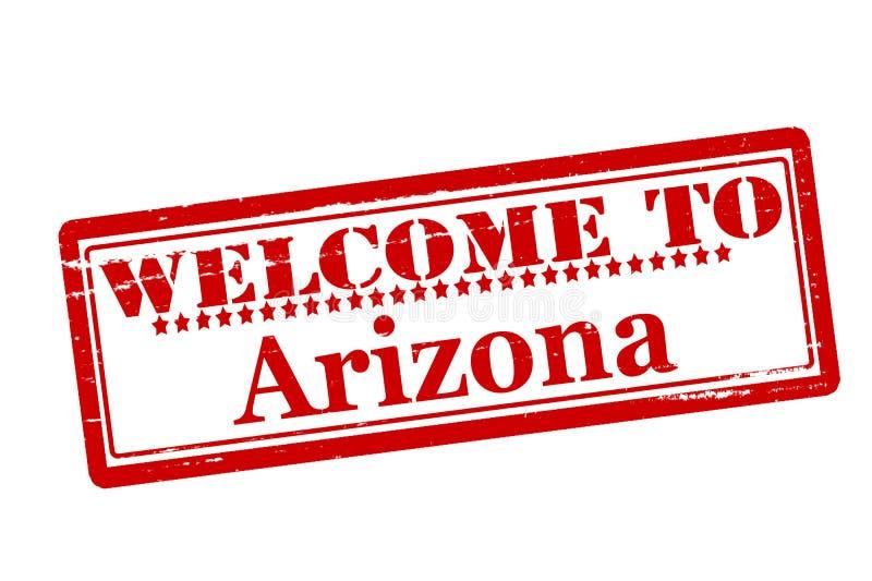 l'Arizona à accueillir illustration stock