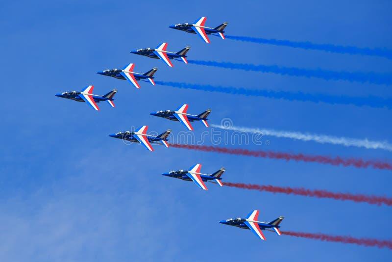 L'Armée de l'Air française photographie stock libre de droits
