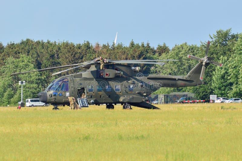 L'armée de l'air royale MERLIN r photographie stock libre de droits