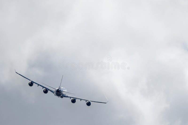 L'Armée de l'Air thaïlandaise royale, Airbus A340 -541 décollent image stock