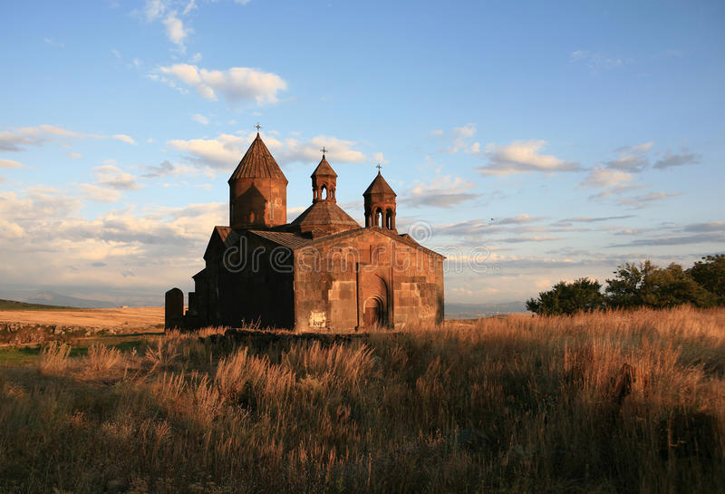 l'Arménie. Monastère de Sagmosavank photographie stock