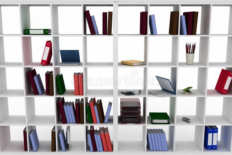 L 39 armadietto semplice con l 39 ufficio obietta sugli scaffali for Armadietto da ufficio