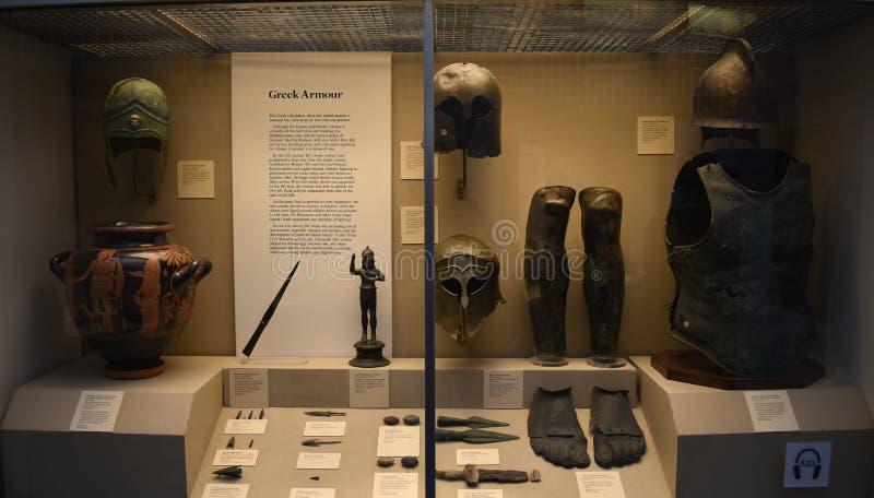 L'armure des gladiateurs photo stock