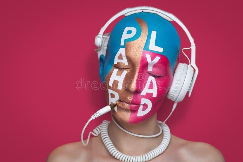 L'art composent la musique image libre de droits