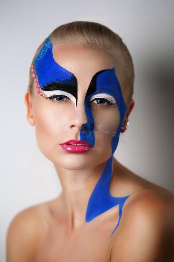 L'art de femme composent photographie stock libre de droits