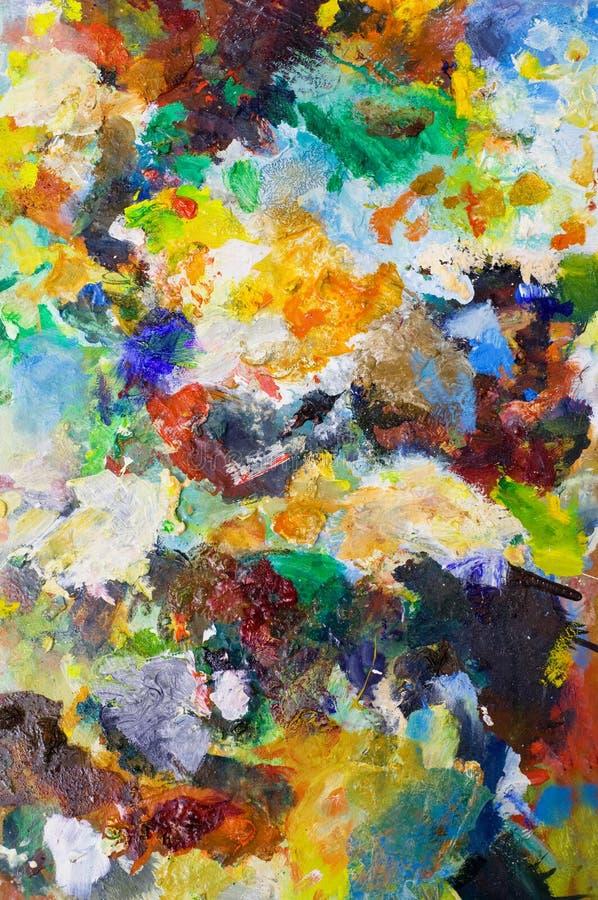 L'arte colora gli ambiti di provenienza immagine stock