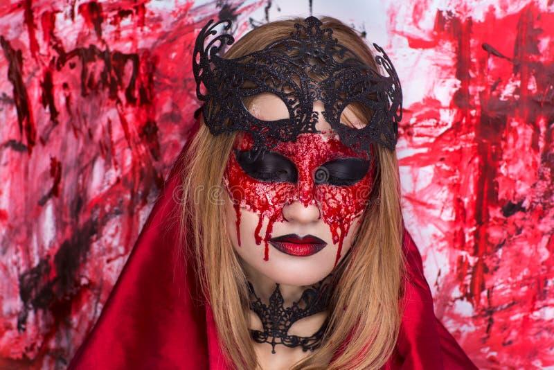 L'arte di Halloween compone immagini stock libere da diritti