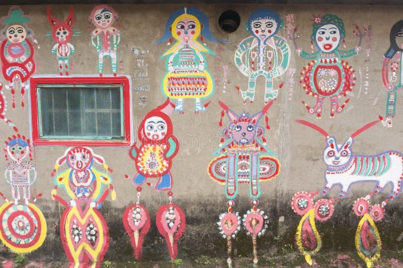 L'arte tradizionale di Taiwan immagine stock libera da diritti