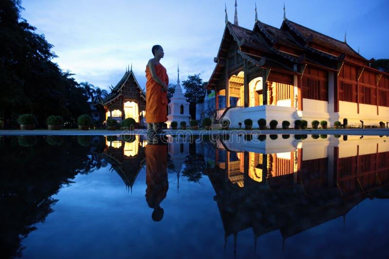L'ASIA TAILANDIA CHIANG MAI WAT PHRA CANTA immagine stock