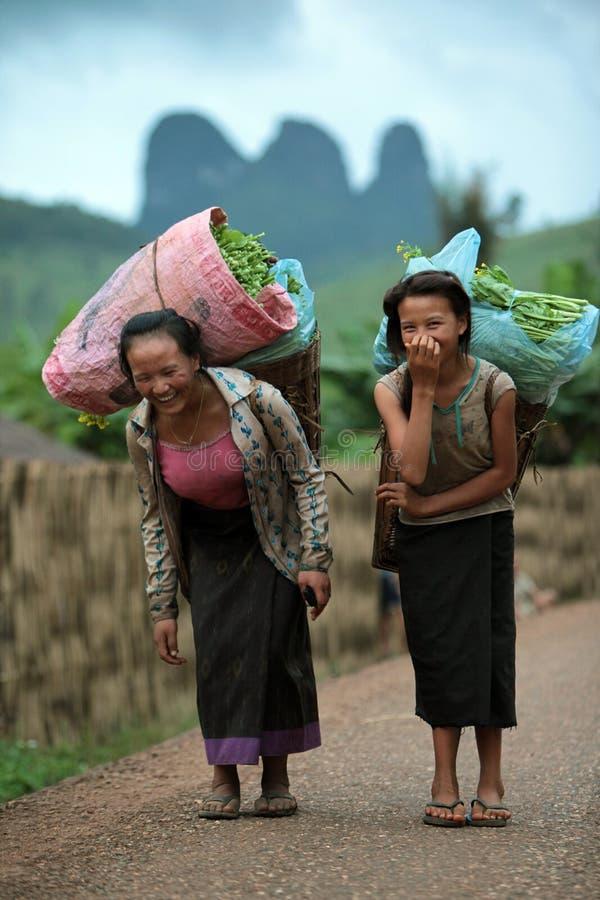 L'ASIE ASIE DU SUD-EST LAOS VANG VIENG LUANG PRABANG photo libre de droits