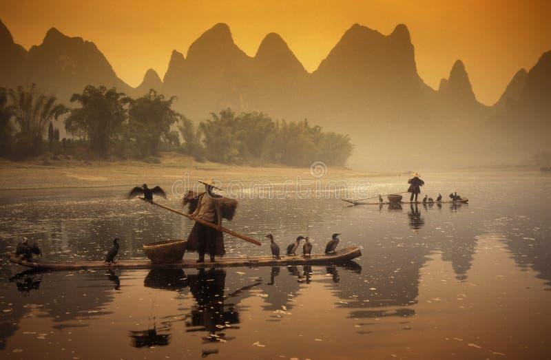 L'ASIE CHINE GUILIN photo libre de droits
