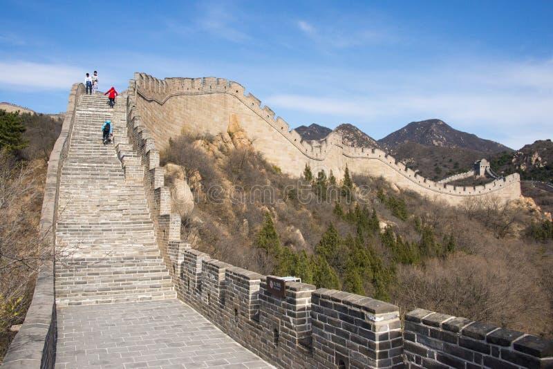 L'Asie Chine, Pékin, bâtiments historiques, badaling la Grande Muraille images stock