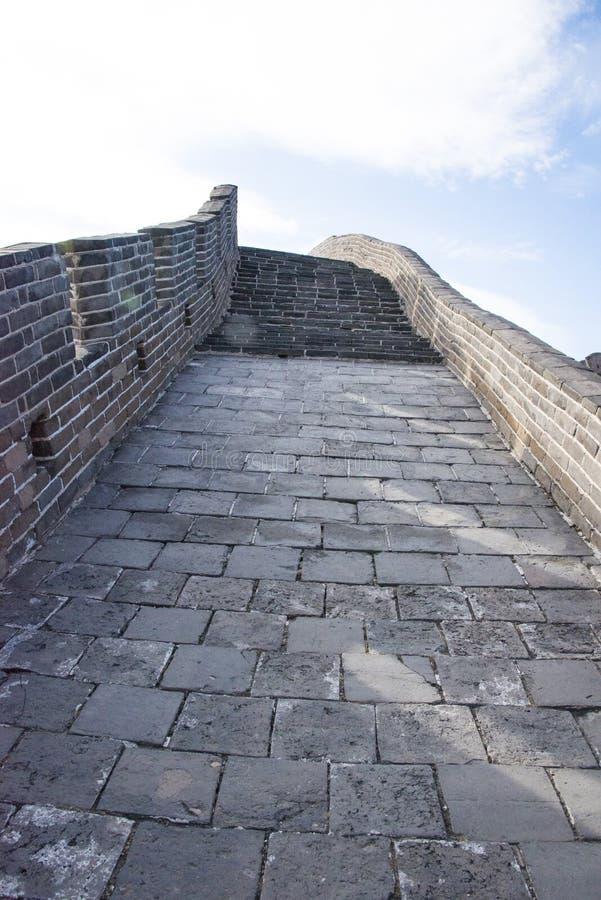 L'Asie Chine, Pékin, bâtiments historiques, badaling la Grande Muraille photos stock
