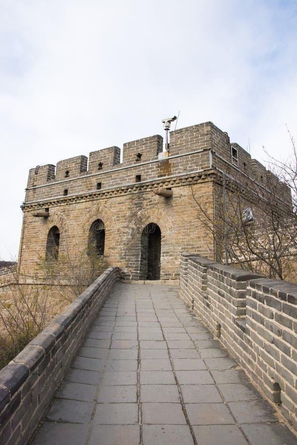 L'Asie Chine, Pékin, bâtiments historiques, badaling la Grande Muraille photo stock