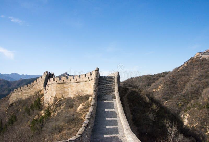 L'Asie Chine, Pékin, bâtiments historiques, badaling la Grande Muraille image stock