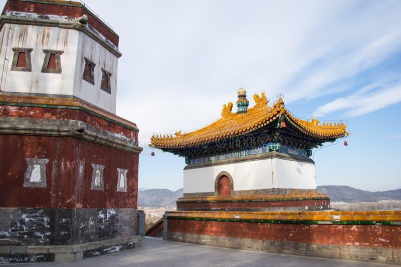L'Asie Chine, Pékin, le palais d'été, architecture classique photo stock