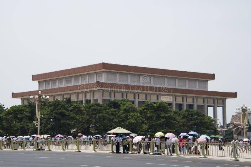 L'Asie, Chinois, Pékin, Président Mao Zedong Memorial Hall photos stock
