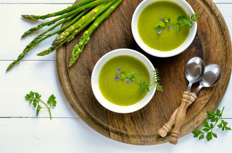 L'asperge soup photos stock