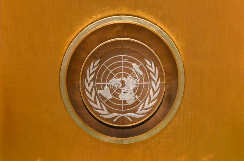 L'Assemblée générale des Nations Unies image libre de droits