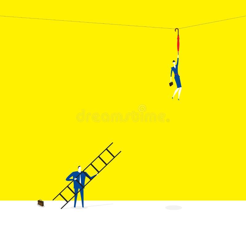 L'association illustration stock