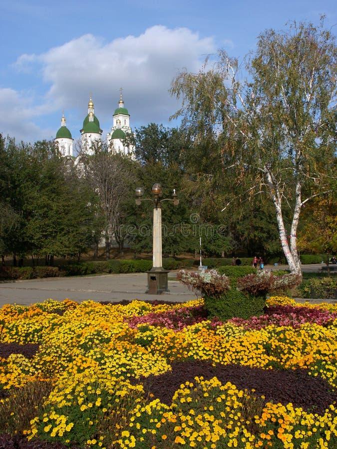 Download L'Astrakan kremlin photo stock. Image du histoire, beffroi - 736434