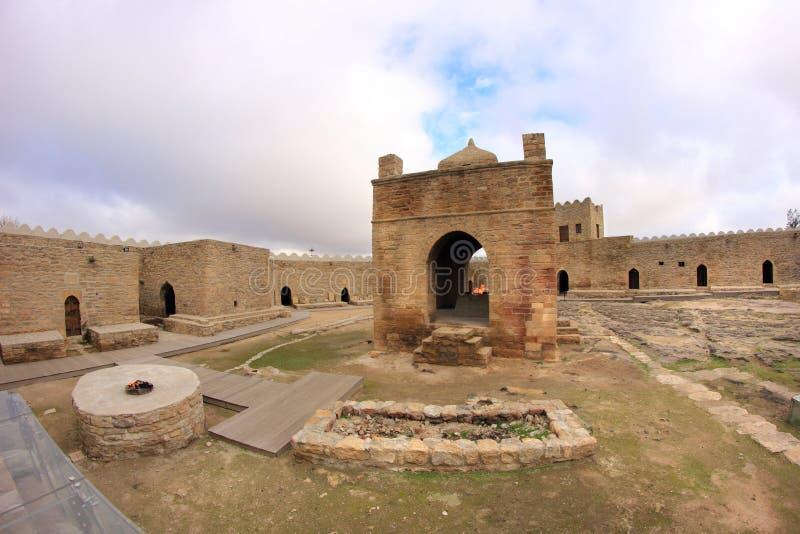 L'Ateshgah en Azerbaïdjan images libres de droits