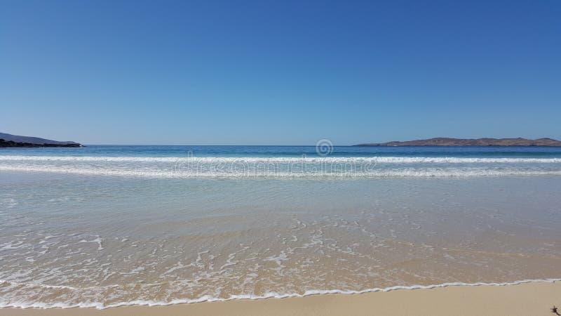 L'Atlantico blu fotografie stock