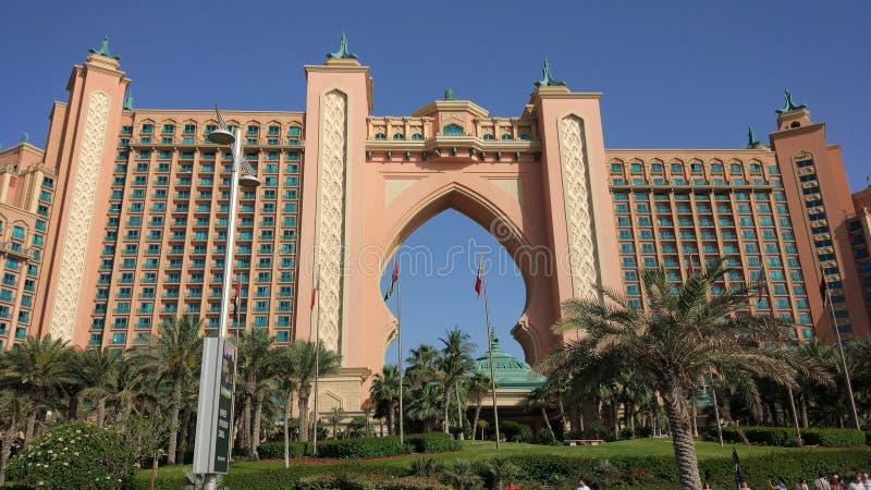 L'Atlantide Dubaï photographie stock libre de droits