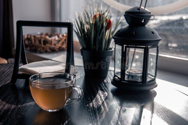 l'atmosphère de thé photos stock