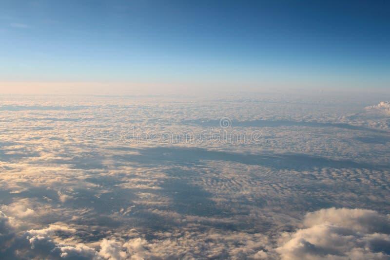 l'atmosphère - fond de ciel et de nuages photos stock