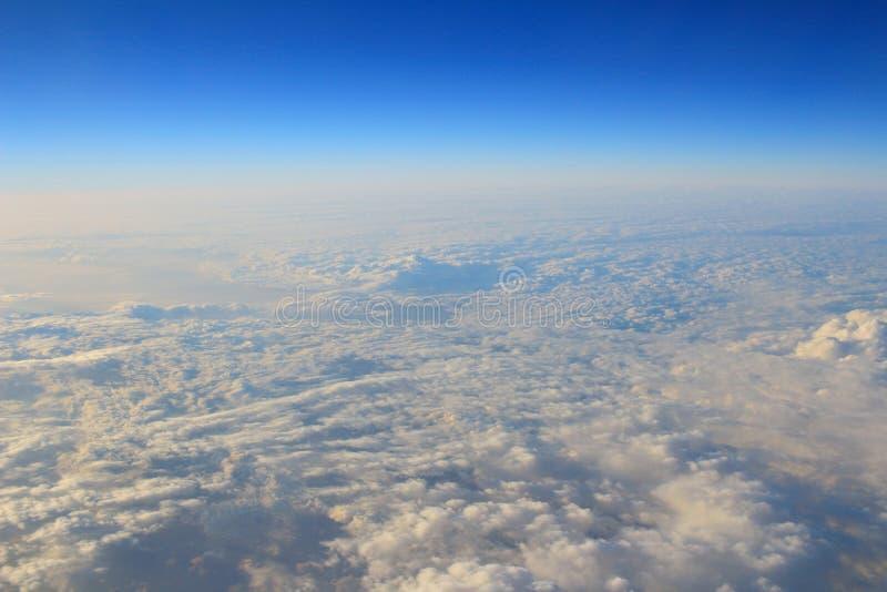 l'atmosphère - fond de ciel et de nuages images libres de droits