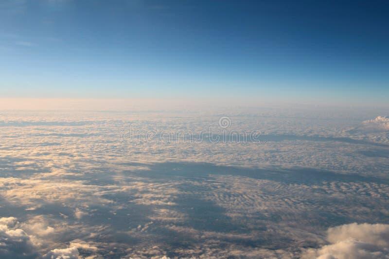l'atmosphère - fond de ciel et de nuages photo stock