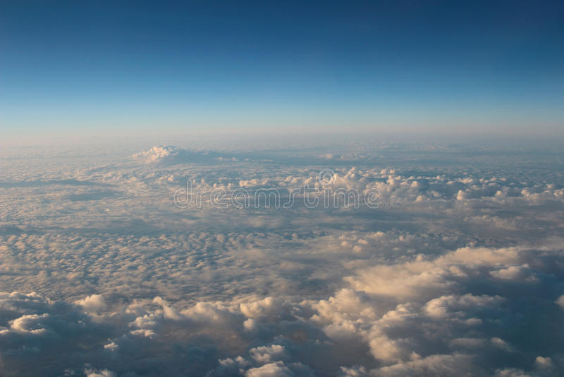 l'atmosphère - fond de ciel et de nuages photos libres de droits