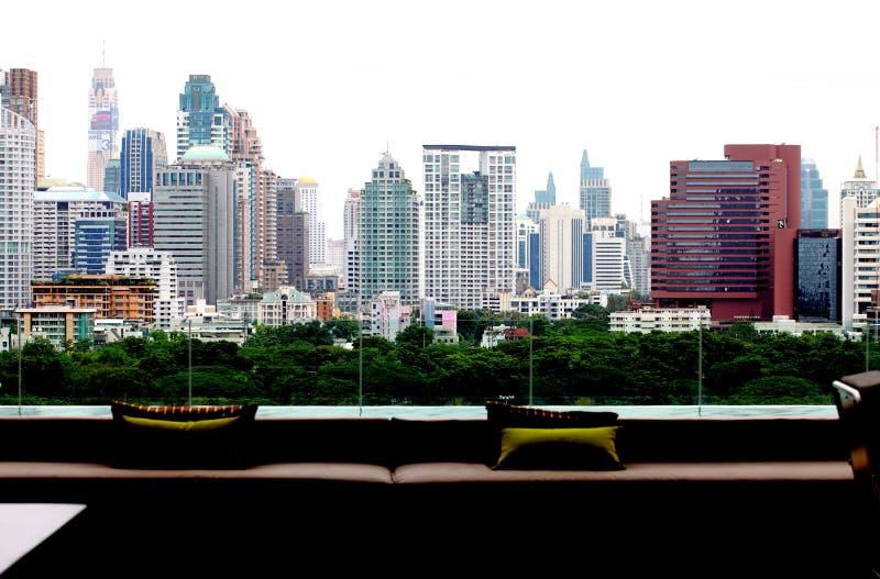 L'atmosphère le capital, un autre angle à Bangkok photographie stock