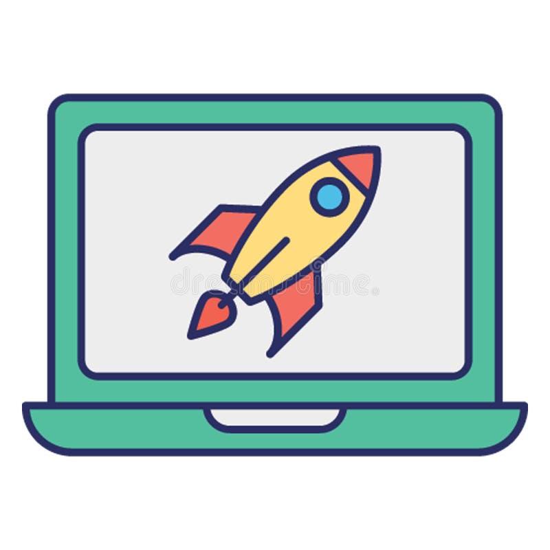 L'attaque de Cyber, ddos attaquent l'icône de vecteur qui peut facilement modifier ou éditer illustration stock