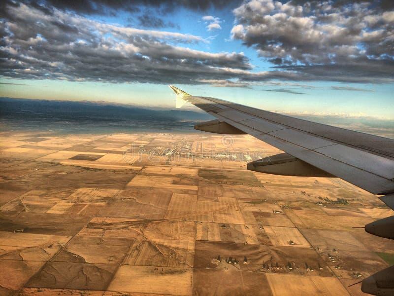 L'atterraggio fotografia stock libera da diritti