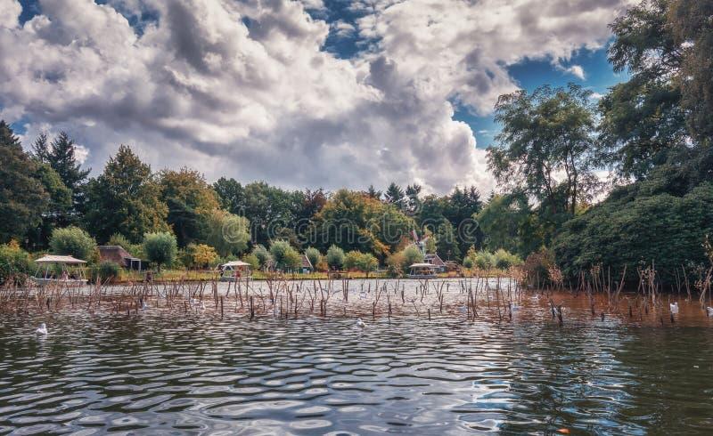 L'attraction Gondaletta en parc d'attractions Efteling dans images stock