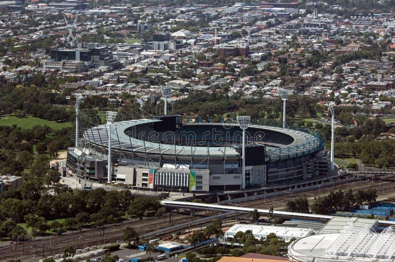 L'au sol de cricket de Melbourne photo stock